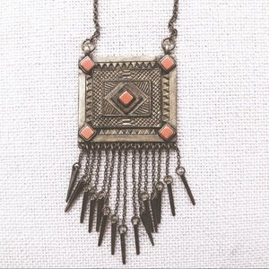 Anthropologie • Aztec Necklace